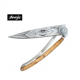 Couteau Deejo Tattoo Olivier 37g Vision
