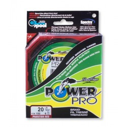 TRESSE POWER PRO RED 455 mts